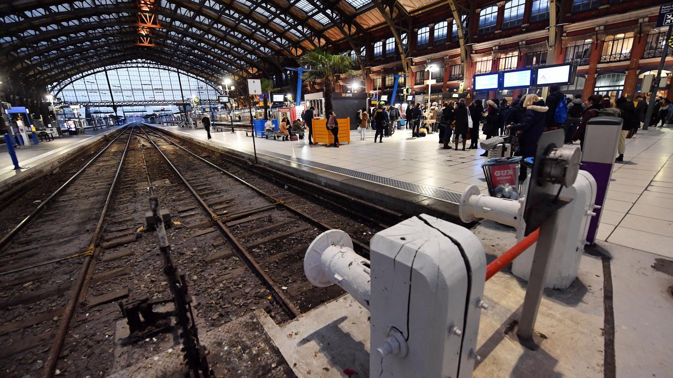 Grève SNCF: un TER sur dix circulera lundi dans les Hauts de France