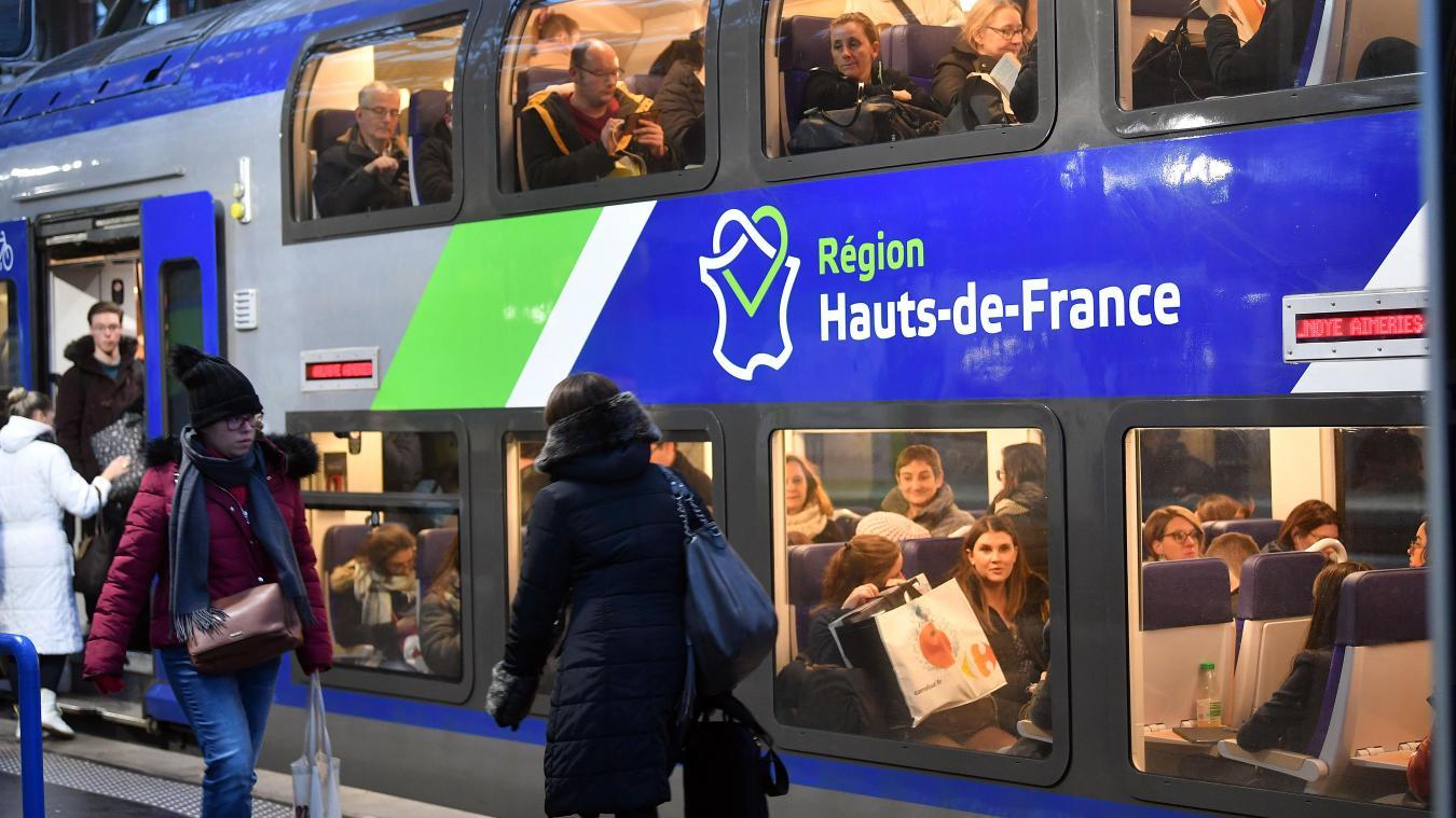 Grève SNCF: trois TER sur dix en circulation dans les Hauts de
