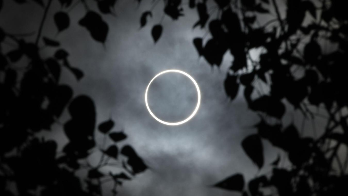 Une éclipse