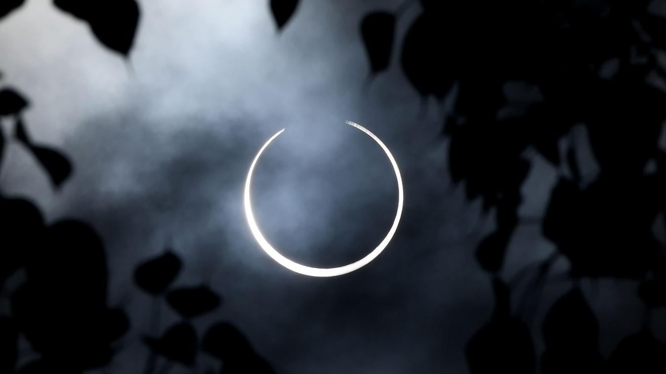 Pour l'éclipse cercle de feu, il fallait être en Asie