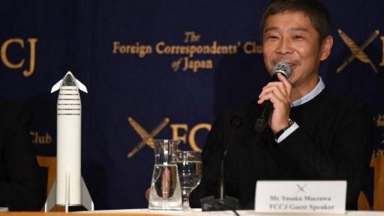 Un milliardaire japonais lance un concours: la gagnante l'accompagnera sur la Lune