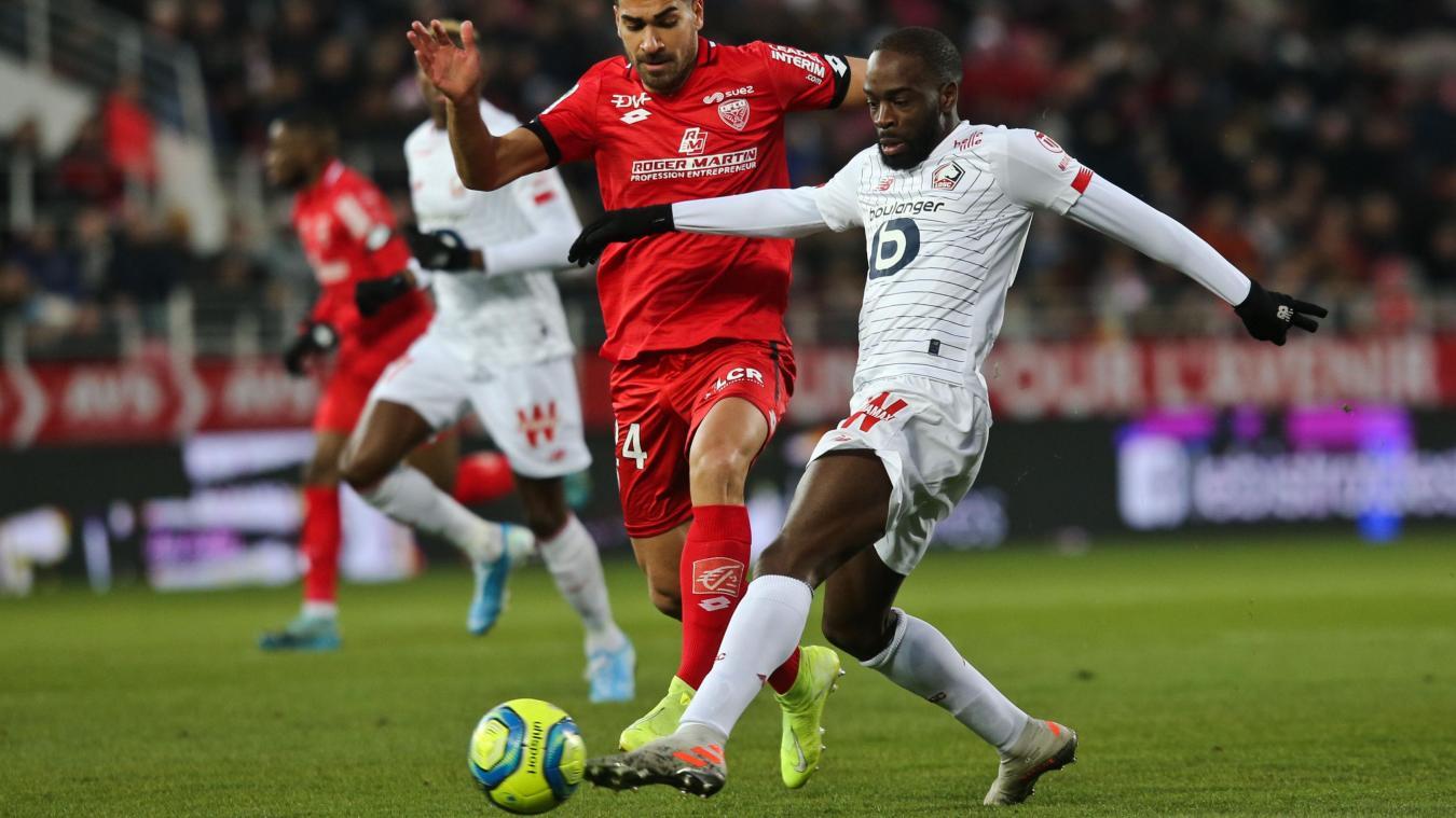 Ligue 1: le LOSC mené et à son tour réduit à dix à Dijon suivez notre direct