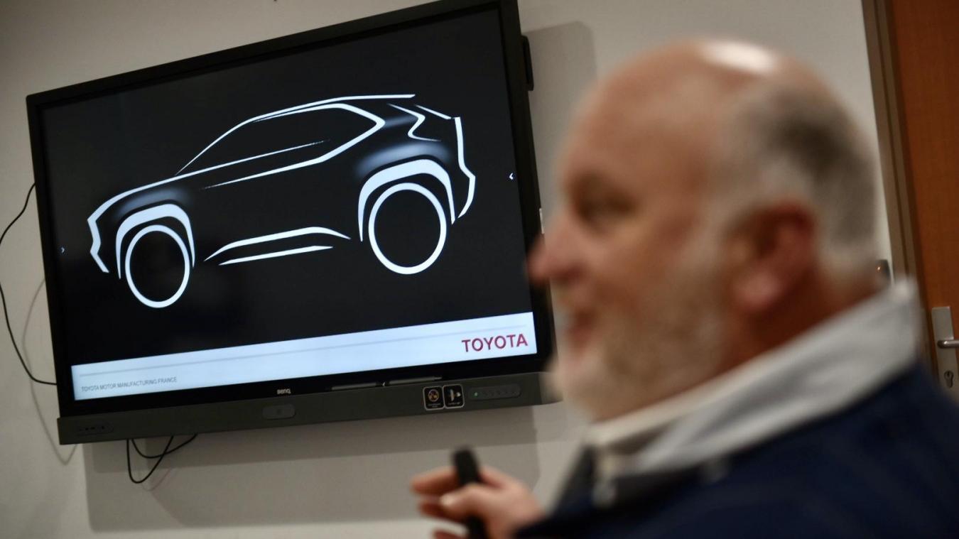 Un SUV compact Toyota produit en France
