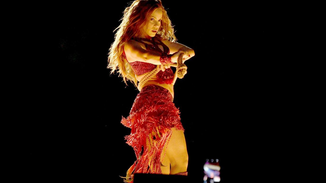 رقص شاكيرا