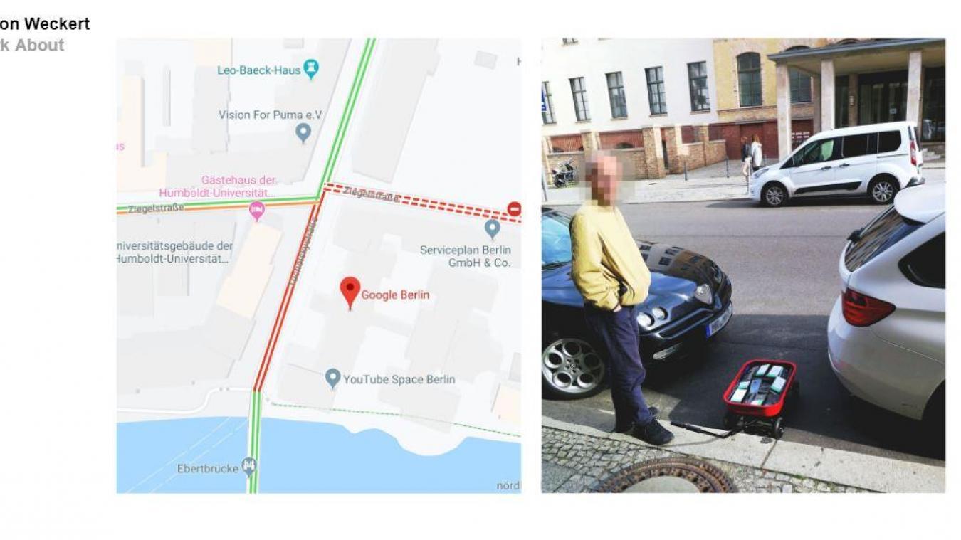 Google Maps il fait croire à un embouteillage... alors qu'il n'y en a pas