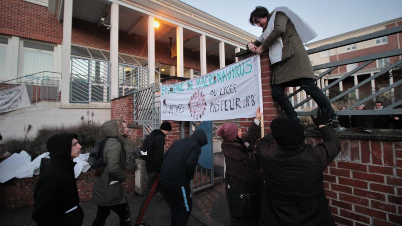 Cours De Cuisine Henin Beaumont hénin-beaumont : opération « lycée mort » pour protester