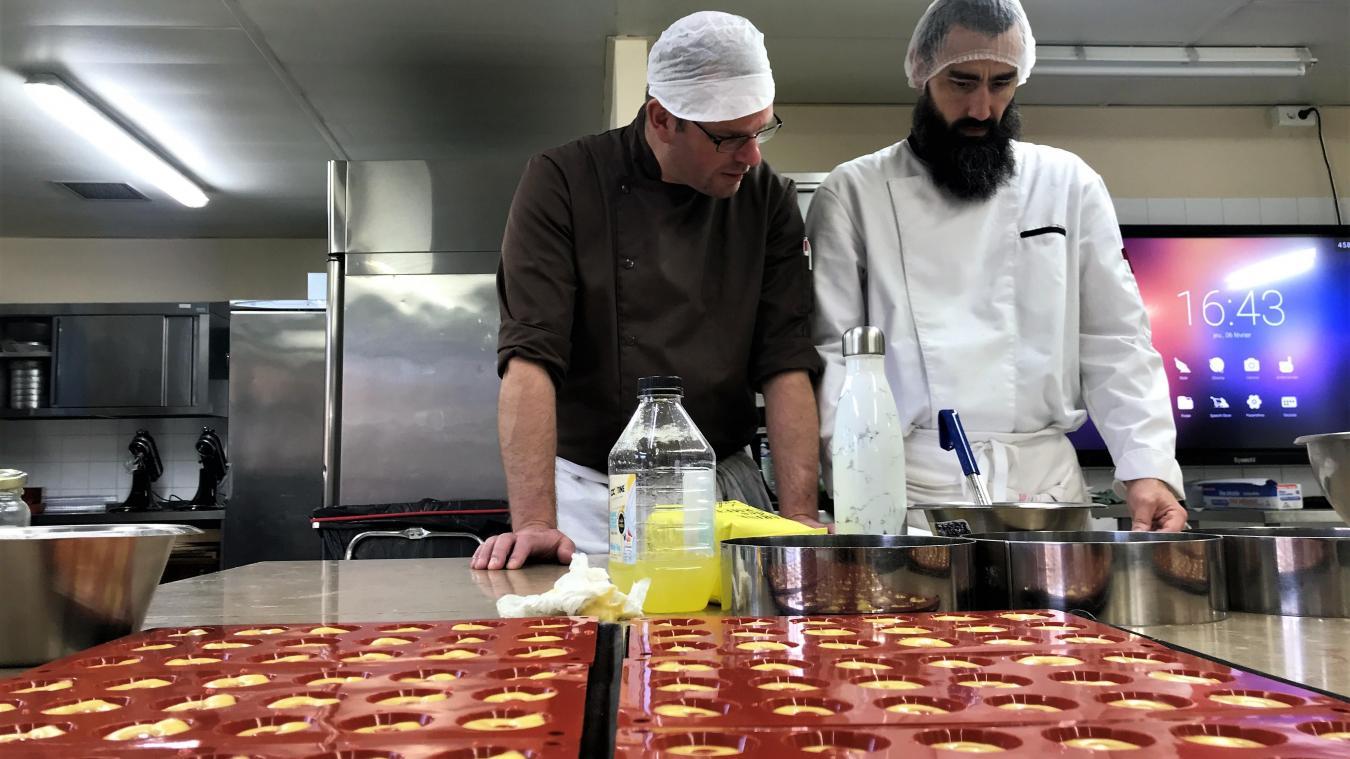 Cours De Cuisine Henin Beaumont finaliste du meilleur pâtissier, julien bourin vient