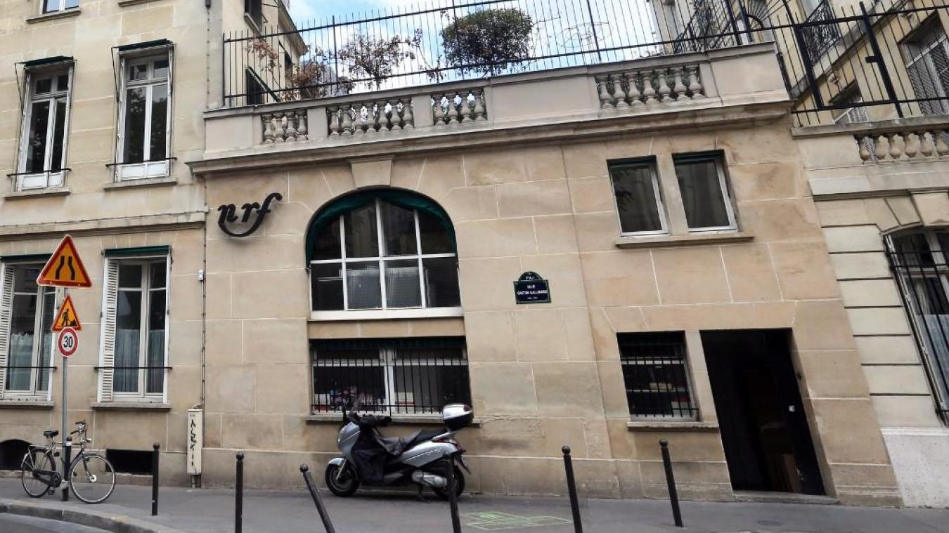 Enquete Matzneff Perquisition Aux Editions Gallimard A Paris