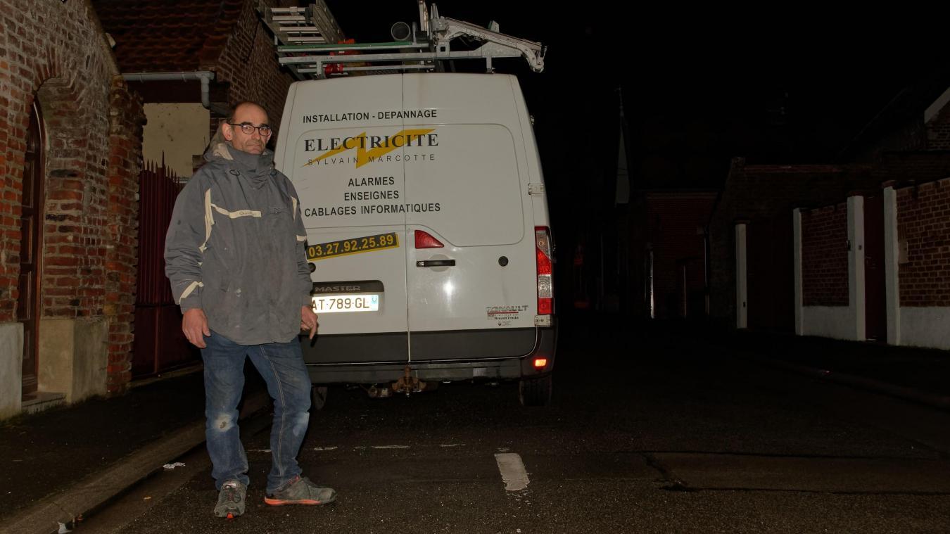 Etude De Marche Artisan Electricien arleux: victime de vols à répétition, un artisan se dit
