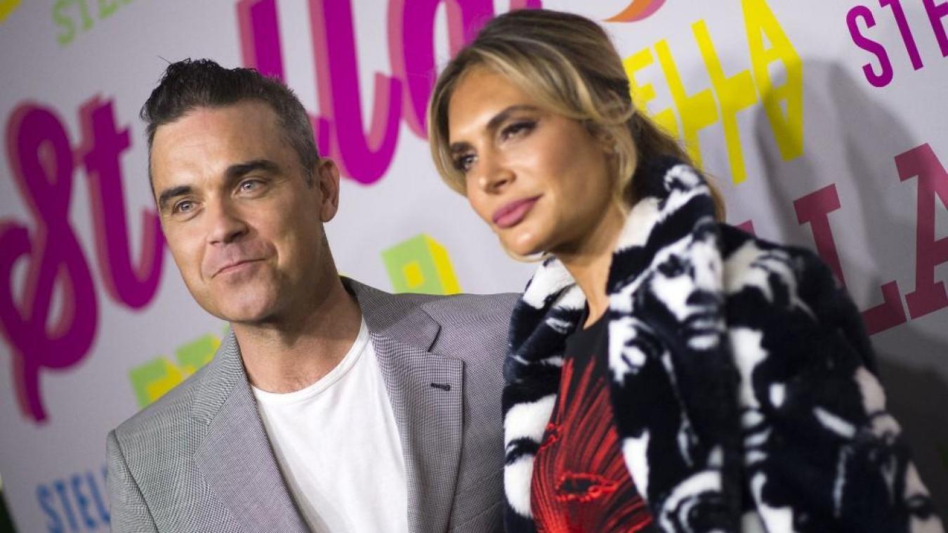La popstar britannique papa pour la 4e fois — Robbie Williams
