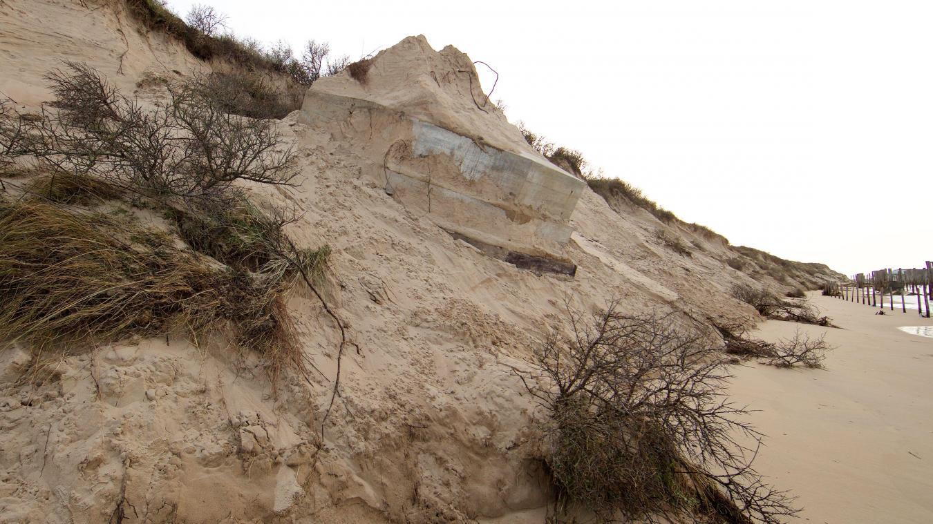 Le réensablement du cordon dunaire est une éventualité qui fait son chemin.