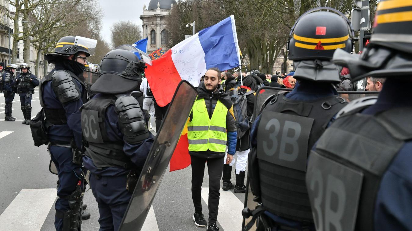 Lille : de nombreux Gilets jaunes ont répondu à l'appel national à manifester