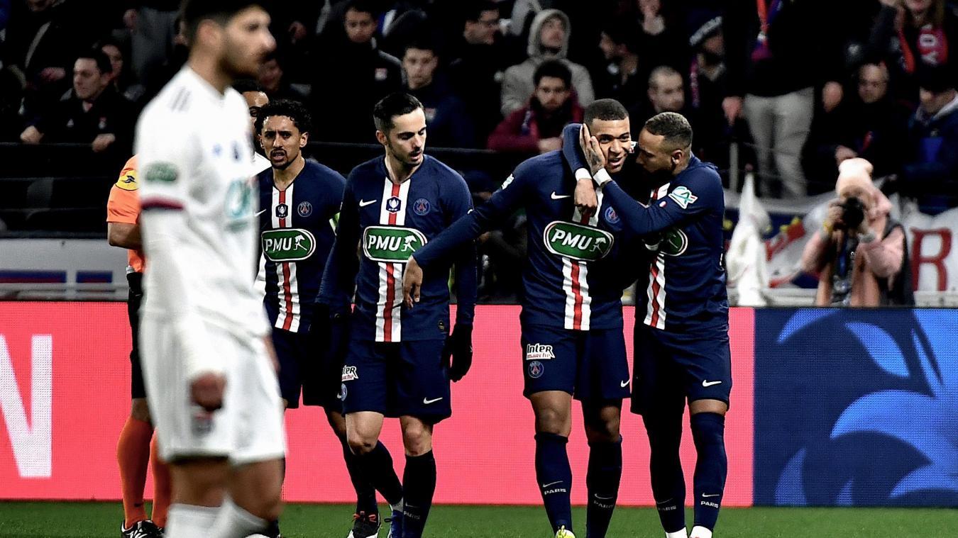 Le PSG s'impose à Lyon en demi-finales de Coupe de France