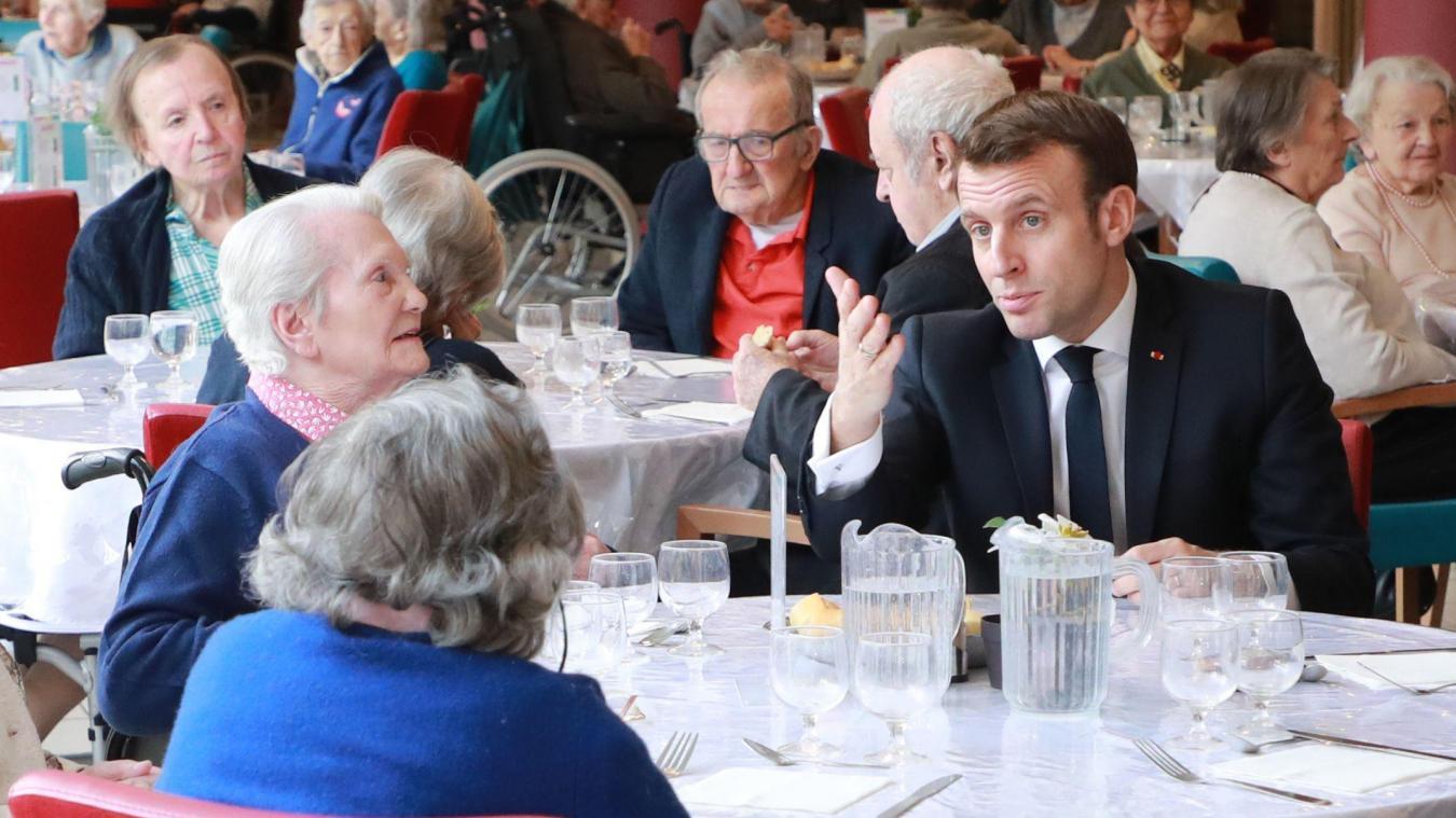 Emmanuel Macron estime qu'une épidémie est