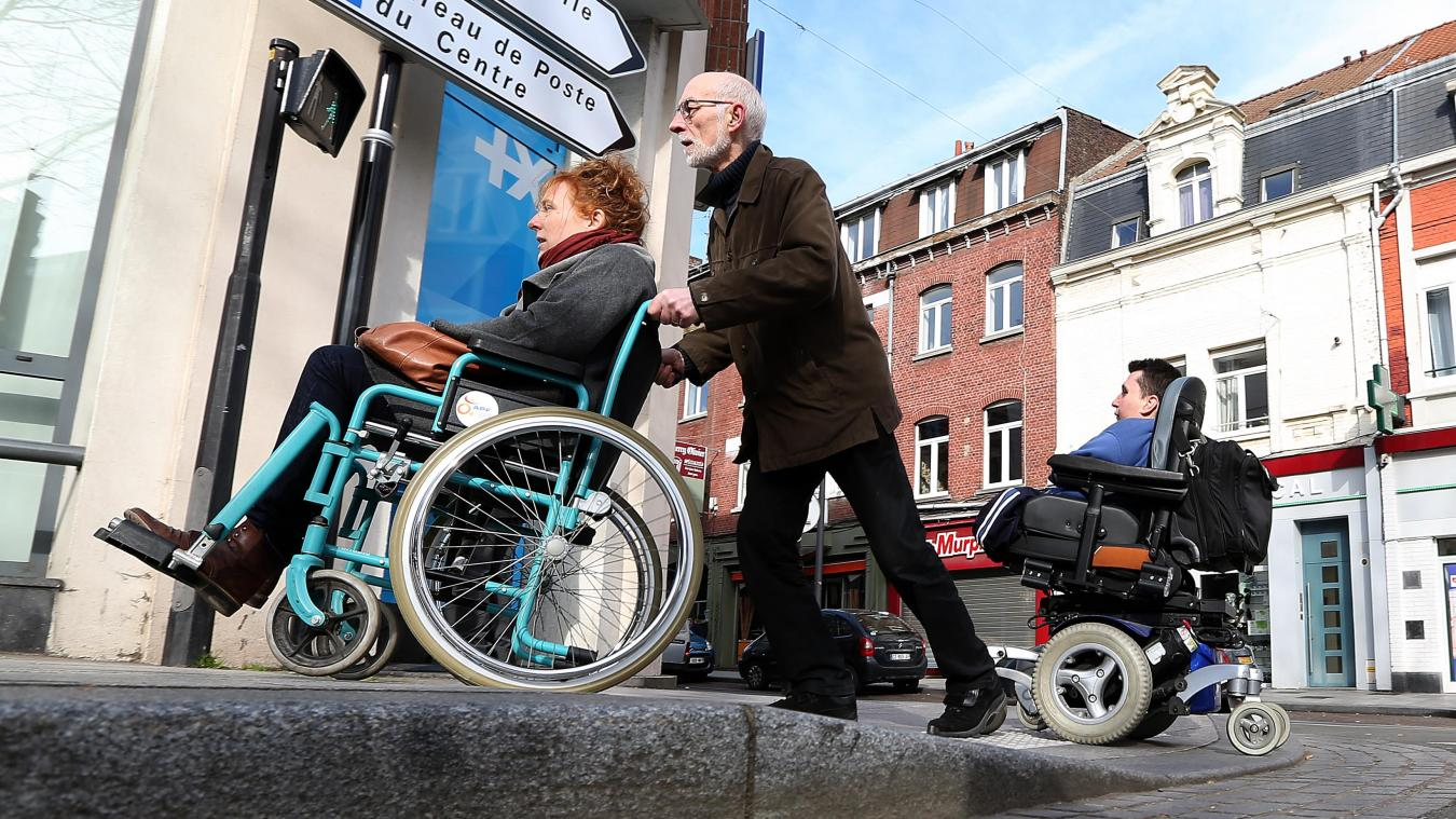 Les personnes en situation de handicap ne sont pas vraiment plus exposées au coronavirus que d'autres. Photo Archives Hubert Van Maele