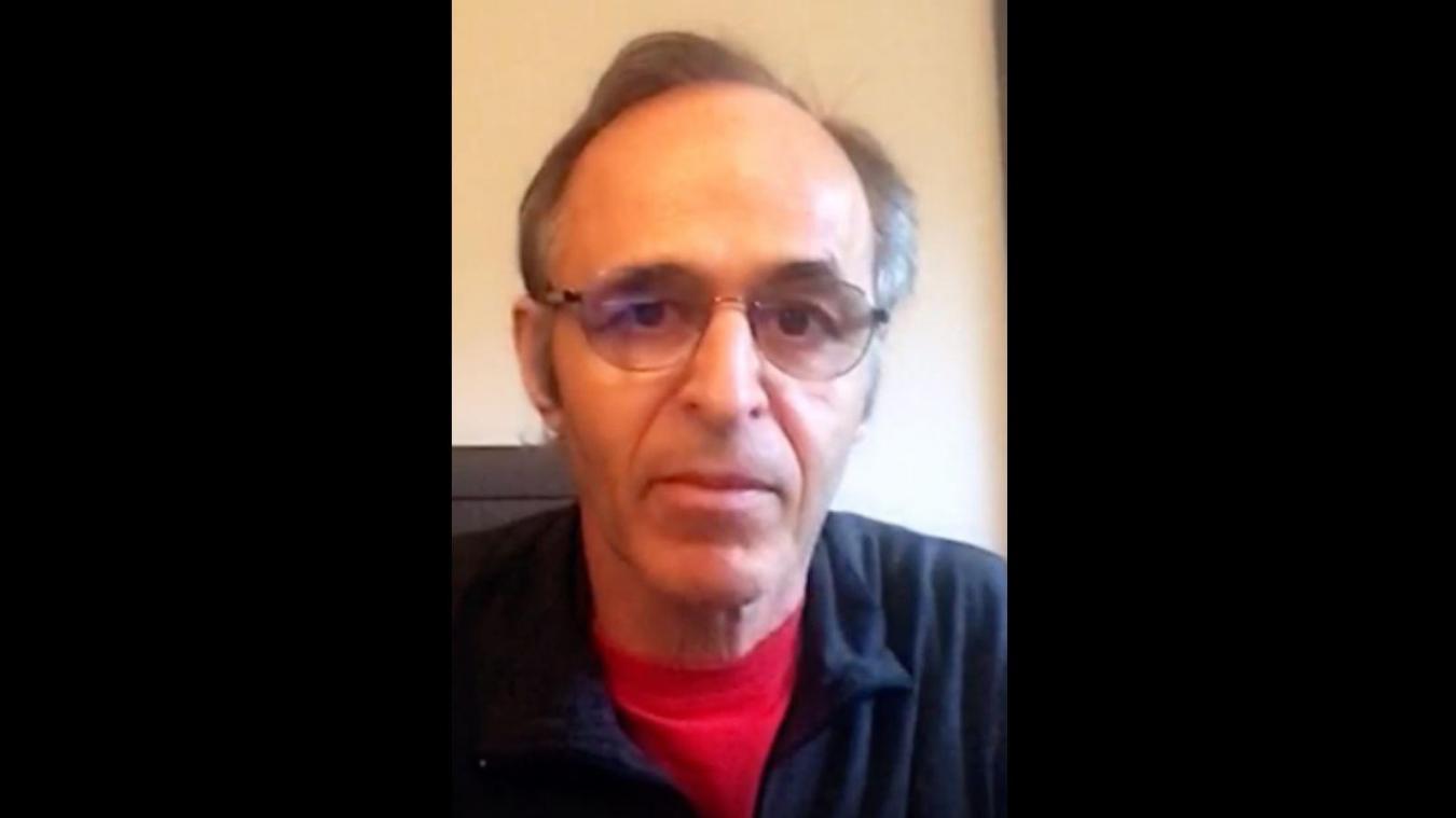 Goldman chante pour les soignants et les travailleurs - vidéo