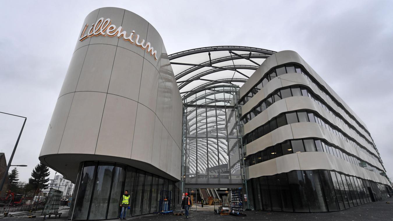 - Lille : le sort s'acharne sur le chantier Lillenium, à l'arrêt