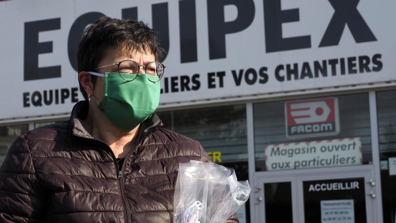 « Tout est mieux que rien », souligne Michaël Rochoy, médecin à Outreau, qui milite pour le port de protection sur le visage. Photo Illustration C. LEFEBVRE