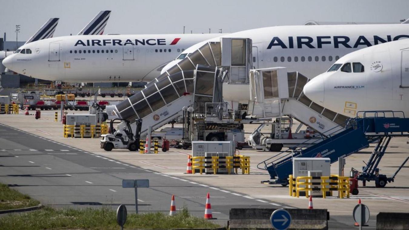 Le trafic passager a chuté de 50,6% en mars — Air France-KLM