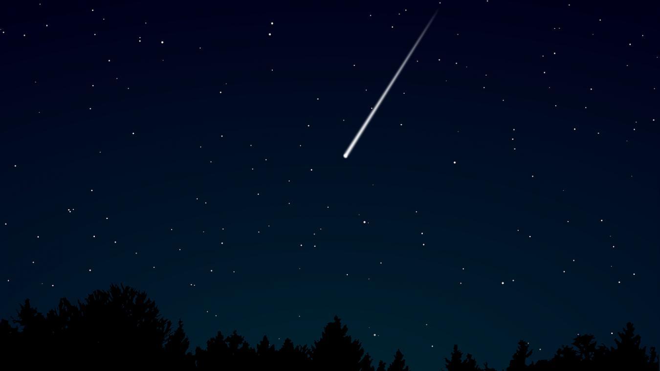 Une pluie d'étoiles filantes, les Lyrides, à observer en période de confinement