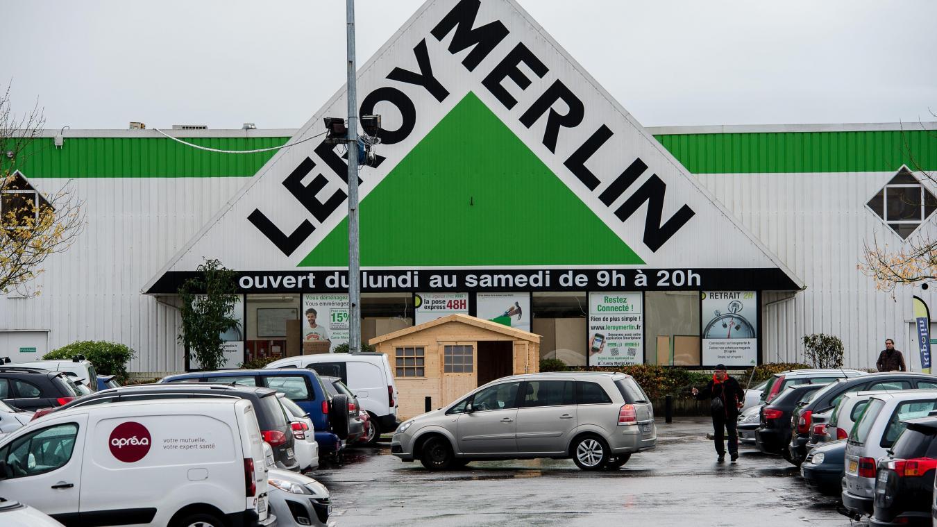 Le Magasin Leroy Merlin De Bethune Verquin Rouvre Partiellement