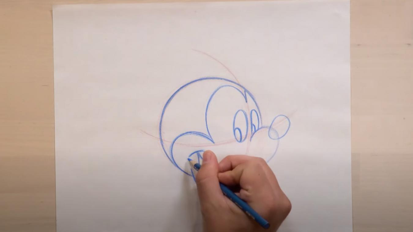 Youtube Disney Propose Des Cours Gratuits Pour Apprendre A Dessiner Mickey Stitch Winnie