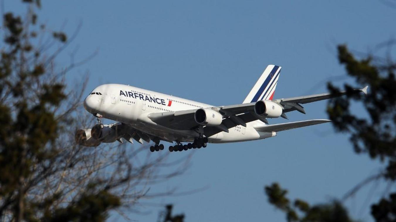 Air France: arrêt de l'exploitation des Airbus A380