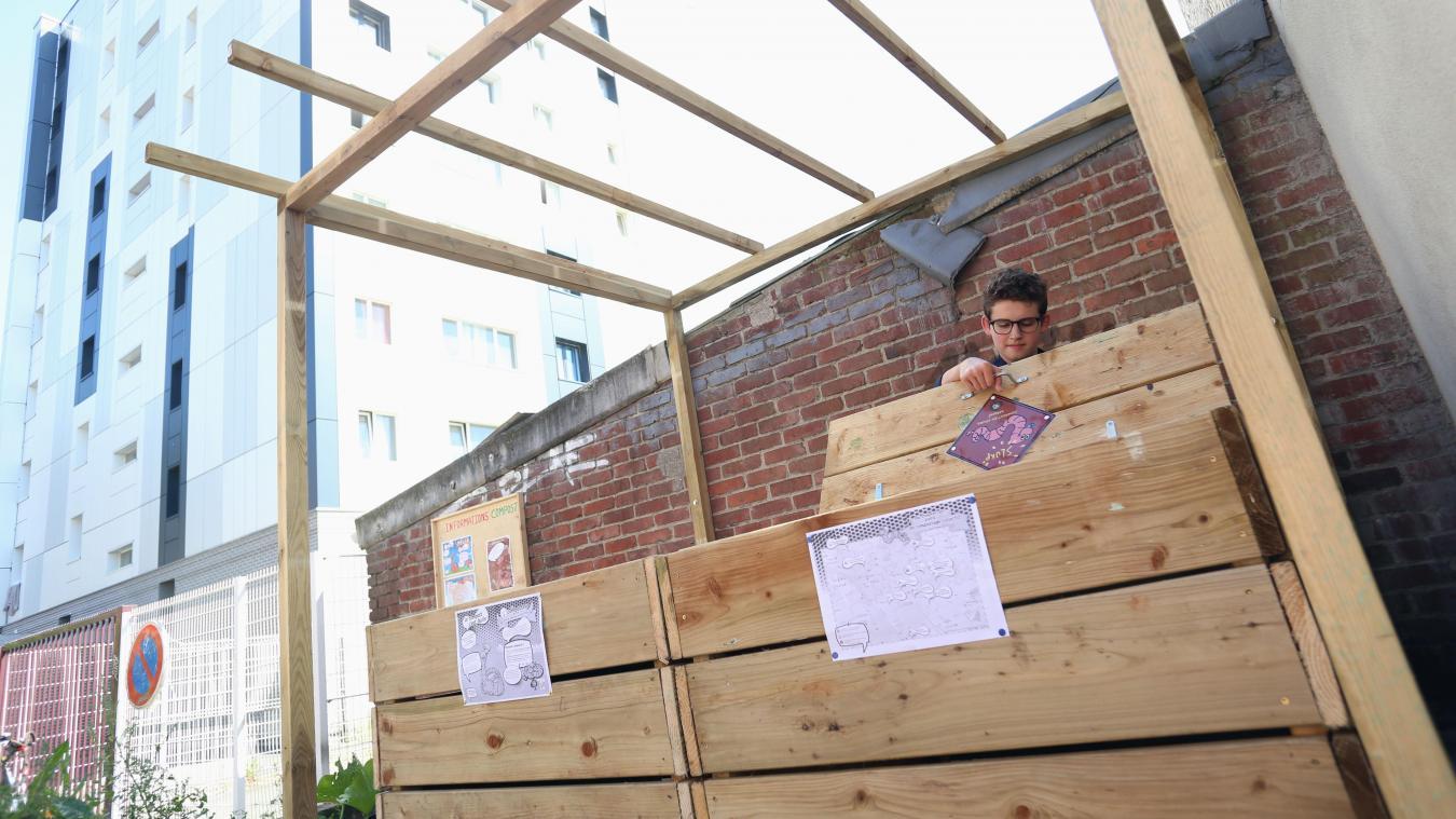 - Lille : les composteurs collectifs, toujours confinés, devraient rouvrir