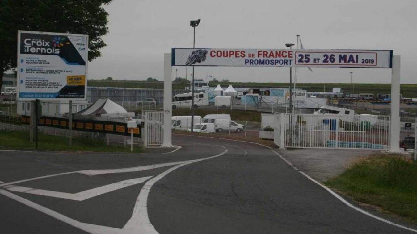 Circuit De Croix En Ternois Calendrier 2022 Grave chute d'un motard sur le circuit de Croix en Ternois