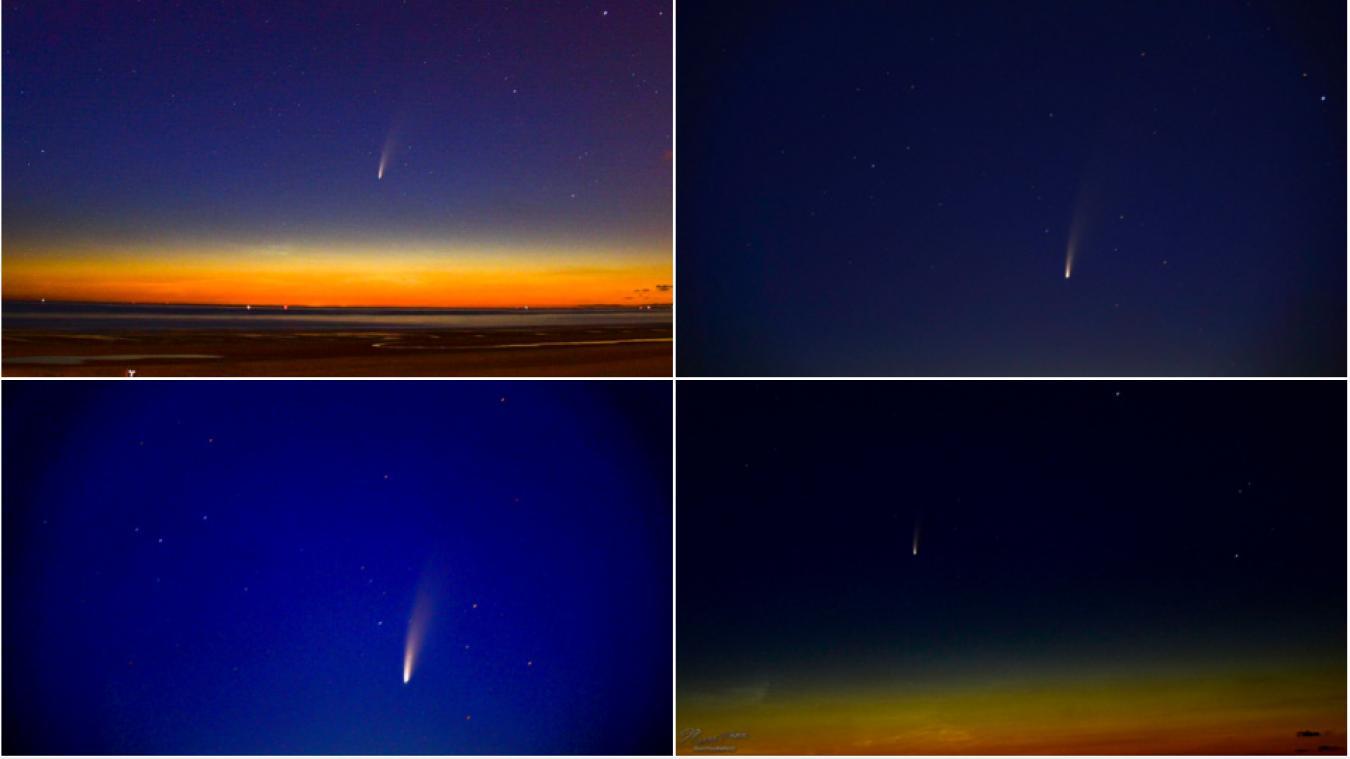 Comment l'observer jusqu'à fin juillet — Comète Neowise