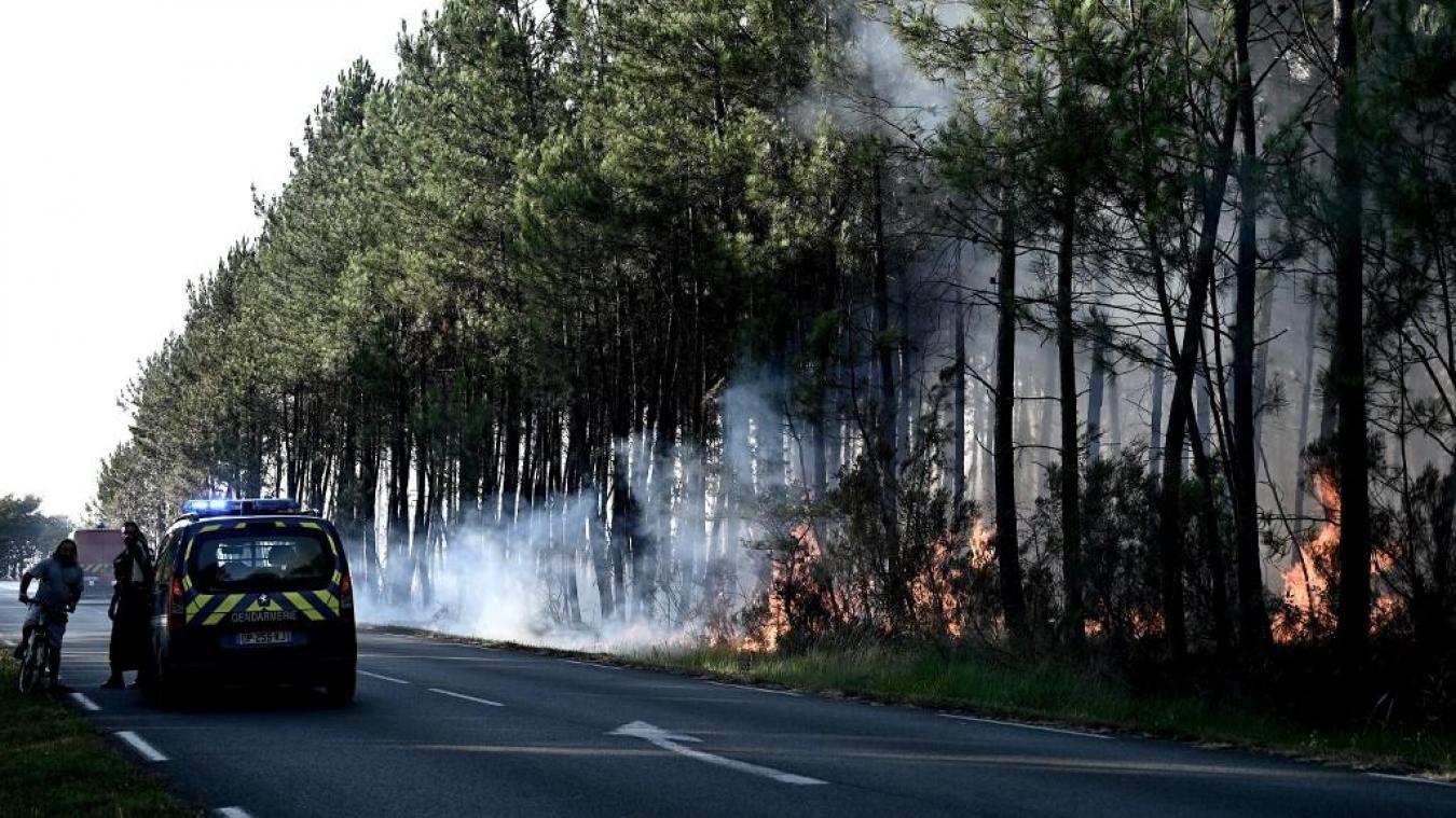 Au cœur du feu avec les sapeurs-pompiers — Incendie au Tuzan