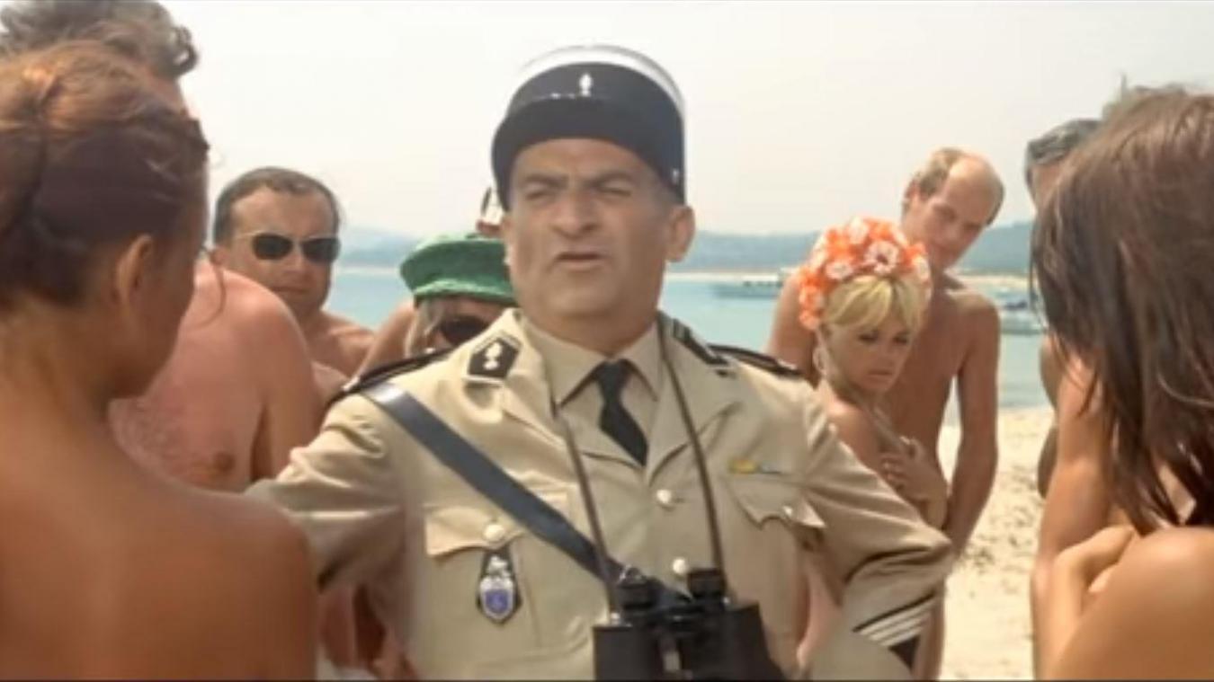 Exposition Louis de Funès à la Cinémathèque : Une visite nudiste organisée