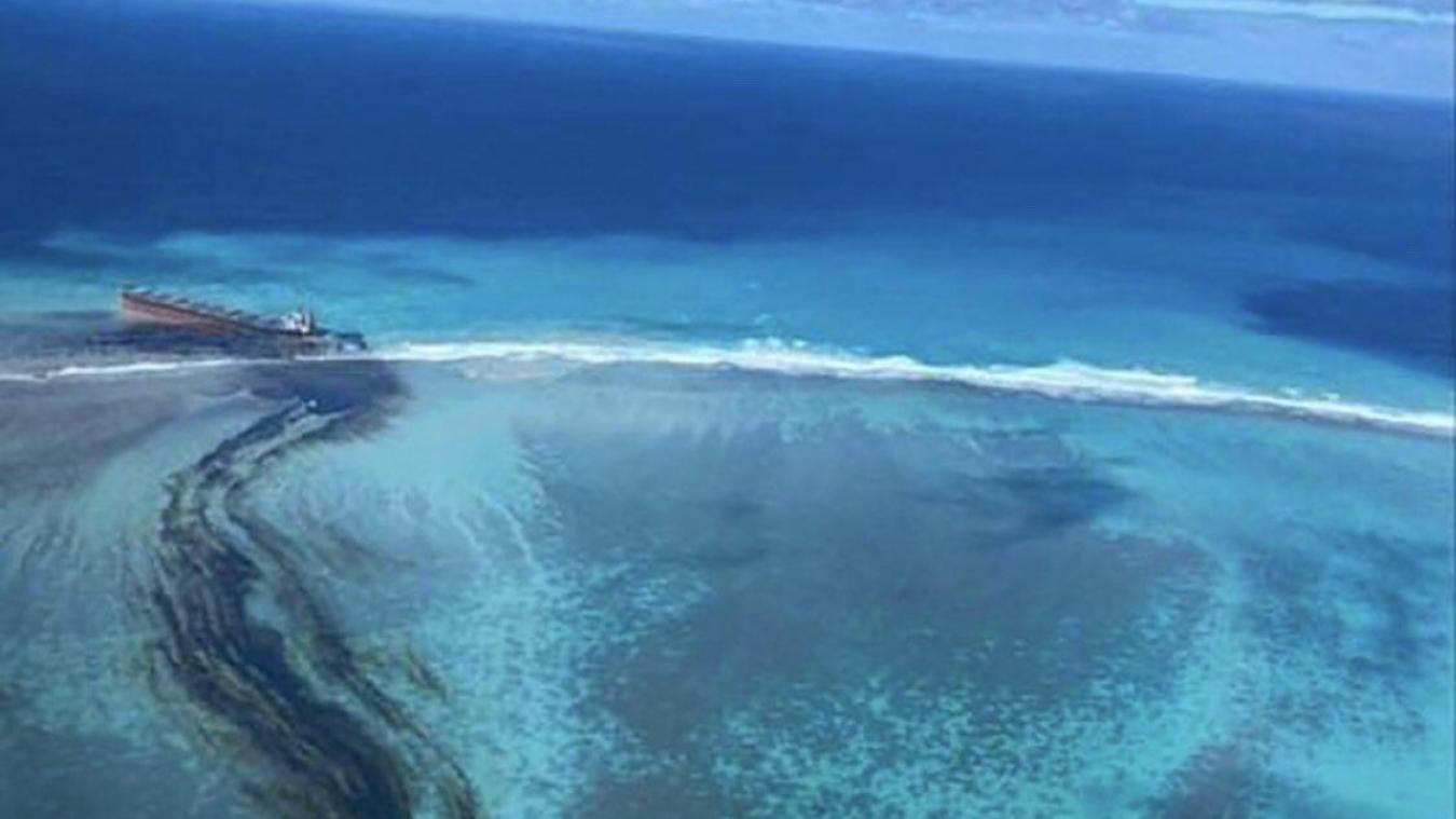 La Réunion se mobilise pour aider l'île Maurice — Wakashio