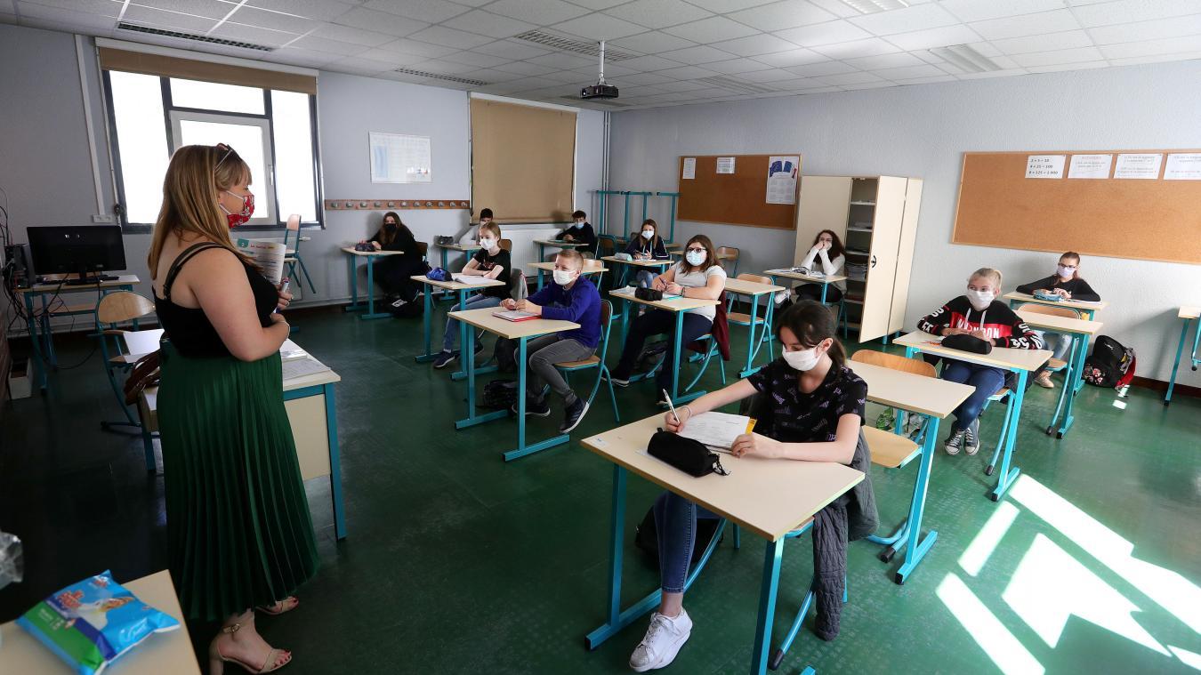 Nouveau protocole sanitaire à l'école, sans distanciation physique — Rentrée de septembre