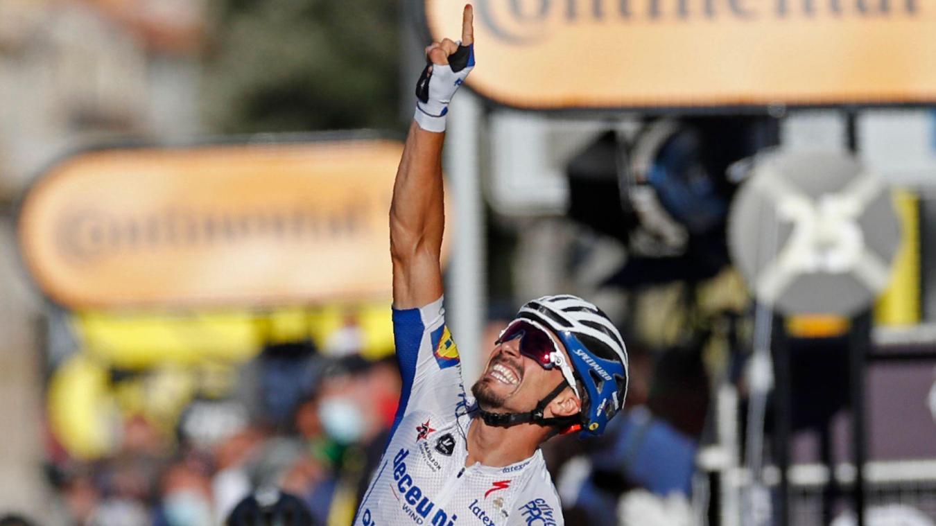 Tour De France Julian Alaphilippe Au Nom Du Pere