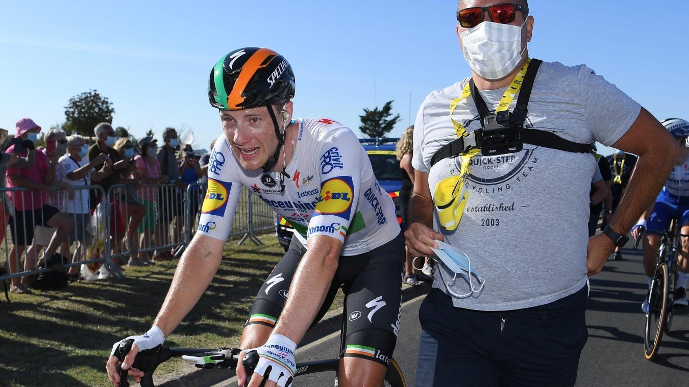 Tour de France : Bennett premier arrivé sur l'Île de Ré !