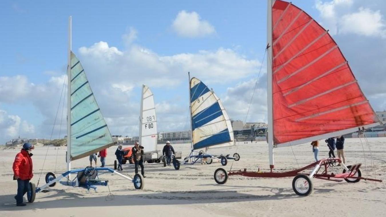Des Chars A Voile Anciens Exposes Ce Week End Sur Le Front De Mer De Berck