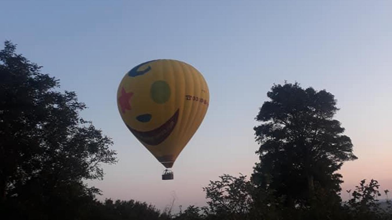 L Atterrissage D Une Montgolfiere Provoque Une Microcoupure A Cassel
