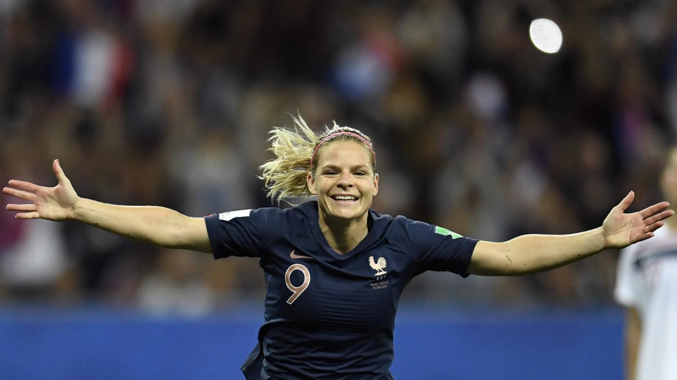 Eugénie Le Sommer devient la meilleure buteuse de l'histoire des Bleues