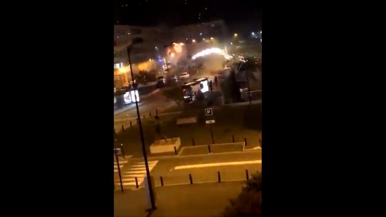 Un commissariat du Val de Marne visé par des tirs de mortier