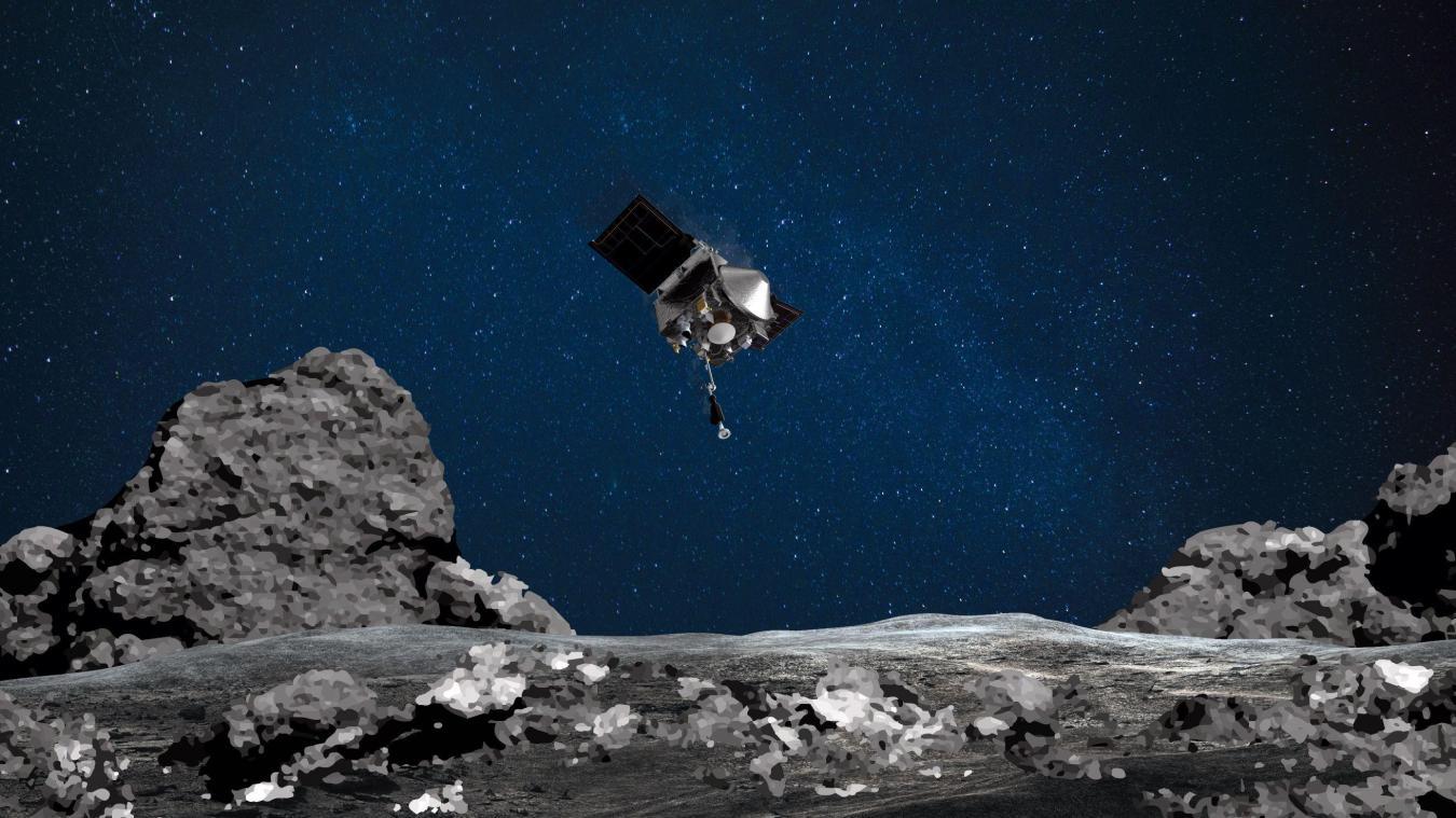 La sonde Osiris-Rex a probablement réussi à collecter des fragments d'astéroïde