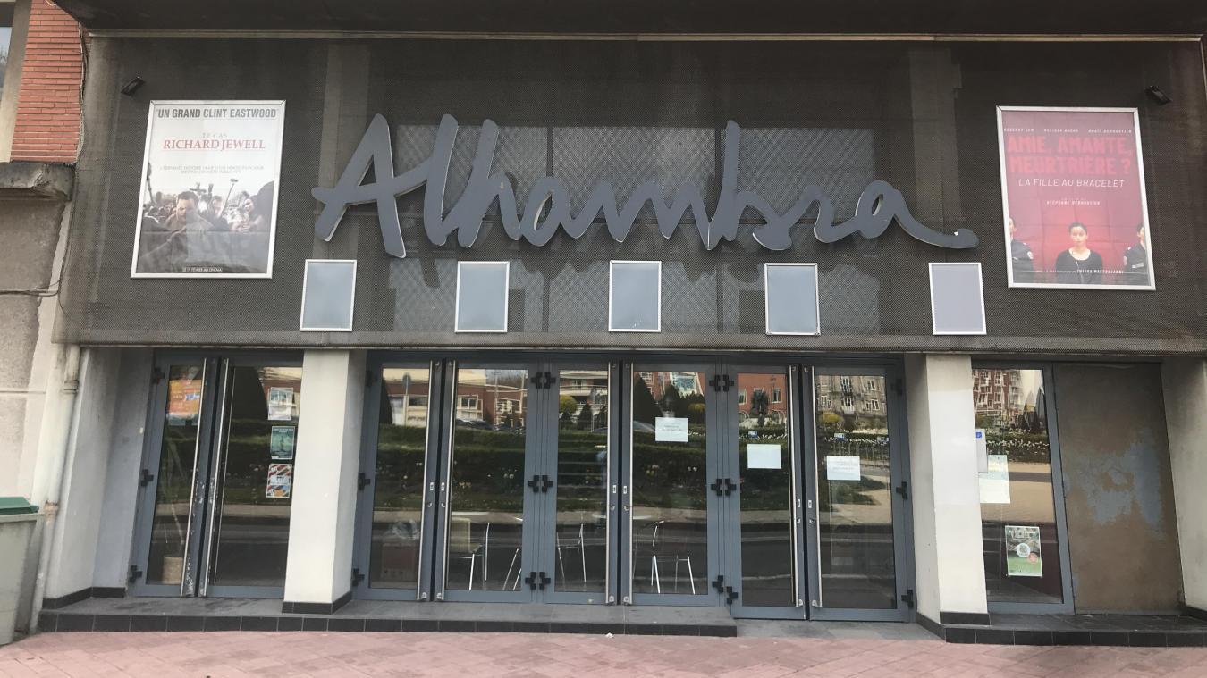 Au cinéma L'Alhambra à Calais, le couvre-feu signe «la mort de la culture»