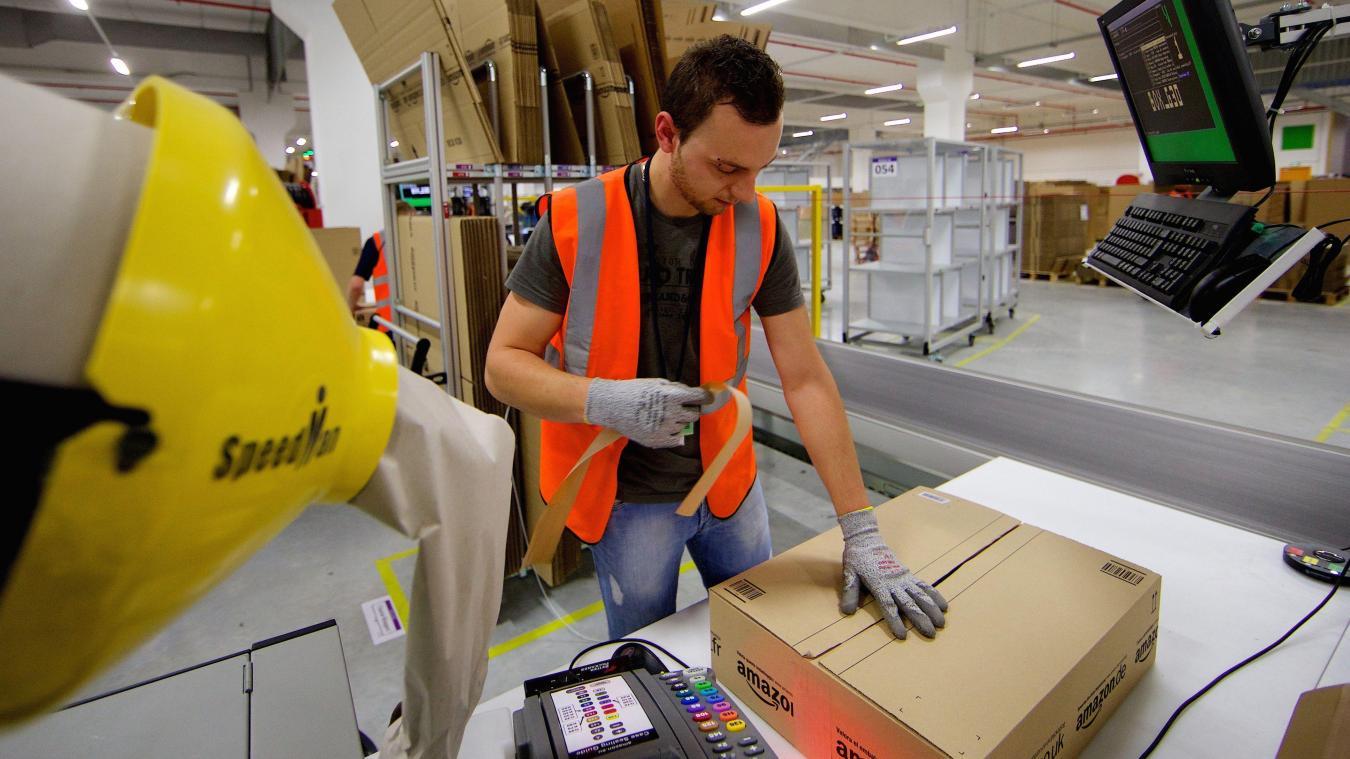 Mardi, Amazon recrute à Tourcoing et à Comines
