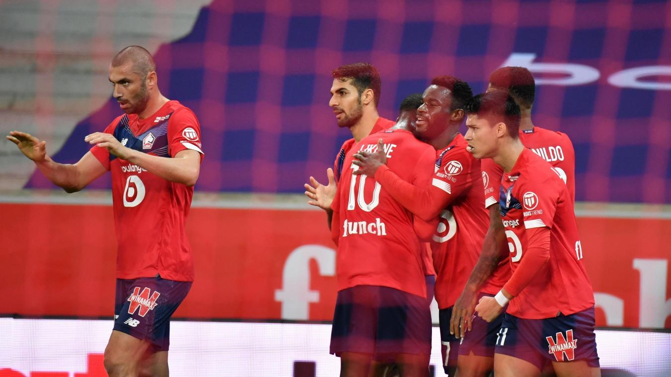 Ligue 1: Lille et Lyon terminent dos à dos