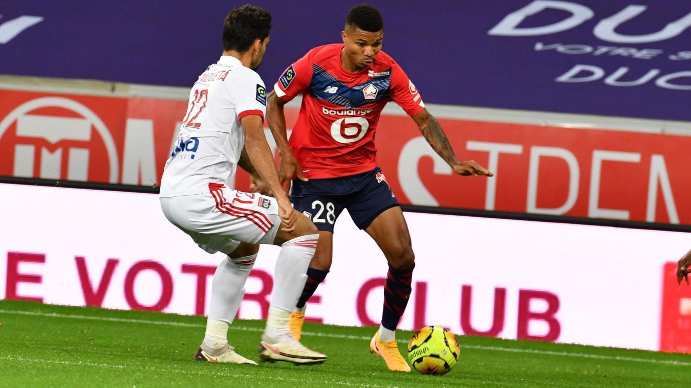Ligue 1 Lille et Lyon terminent dos à dos