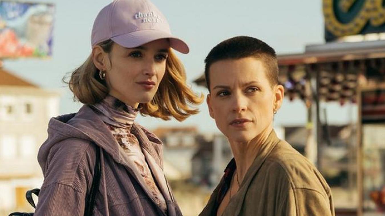 Charlotte Le Bon et Veerle Baetens, un duo féminin dans un western moderne et social.