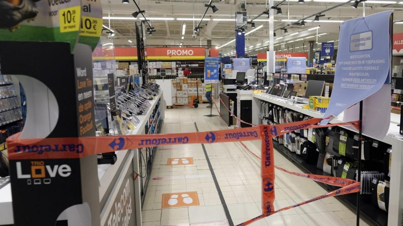 Carrefour : le recours au chômage partiel scandalise les syndicats