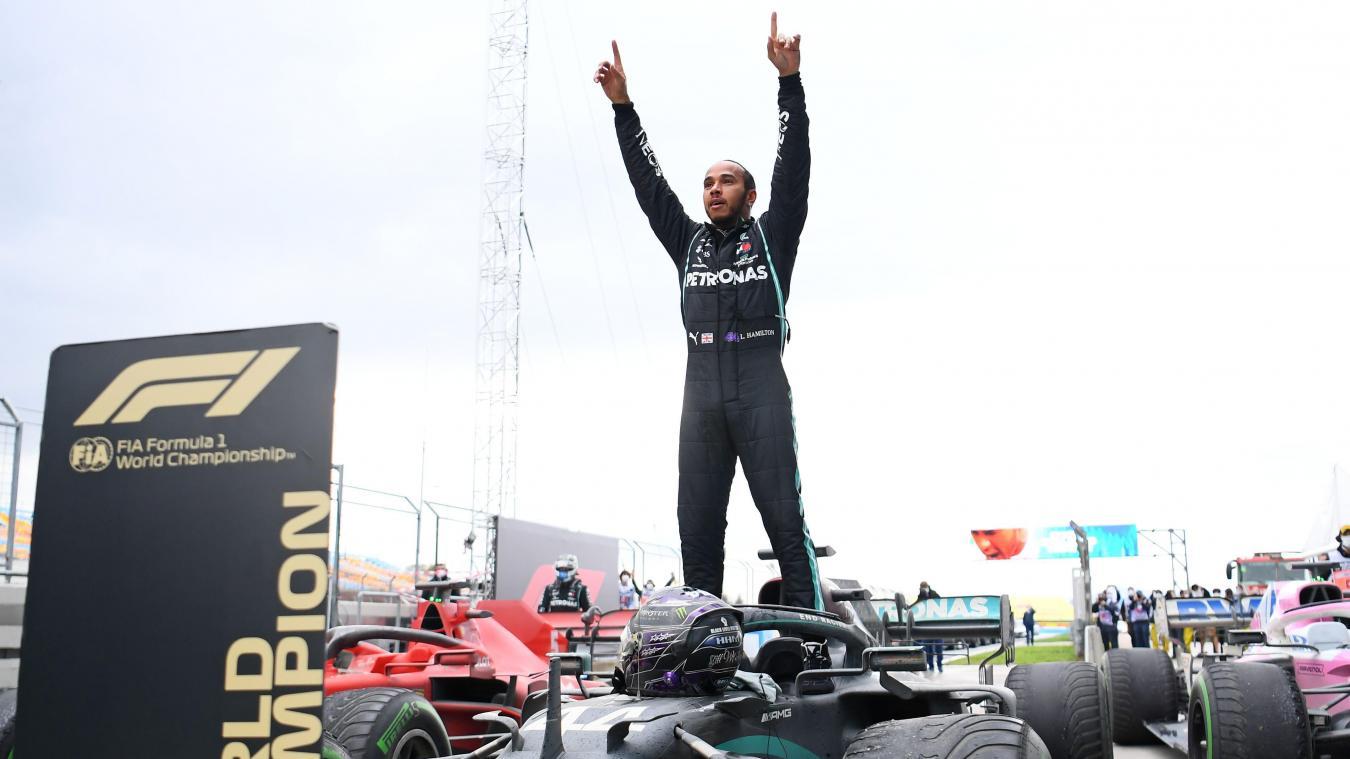 Formule 1 : Lewis Hamilton est sacré champion du monde à Istanbul