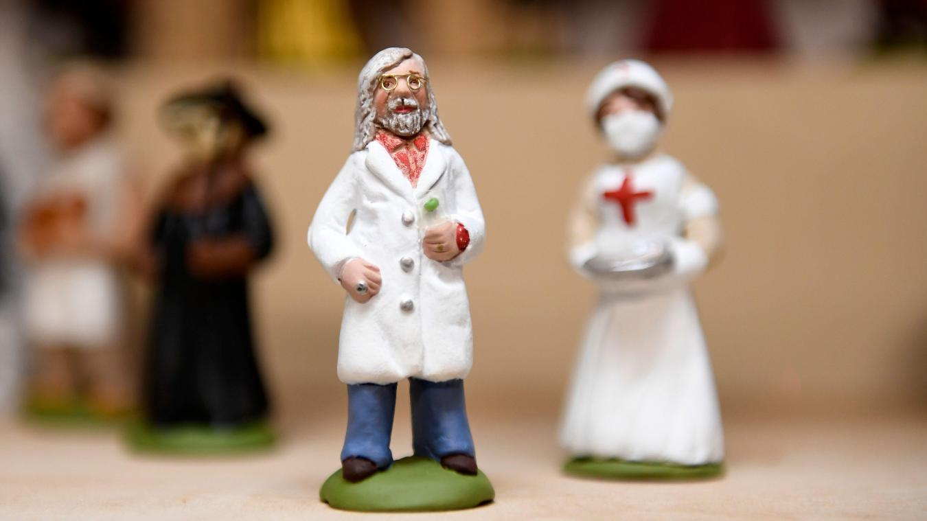 Le professeur Raoult a un santon à son effigie et il se vend très bien!