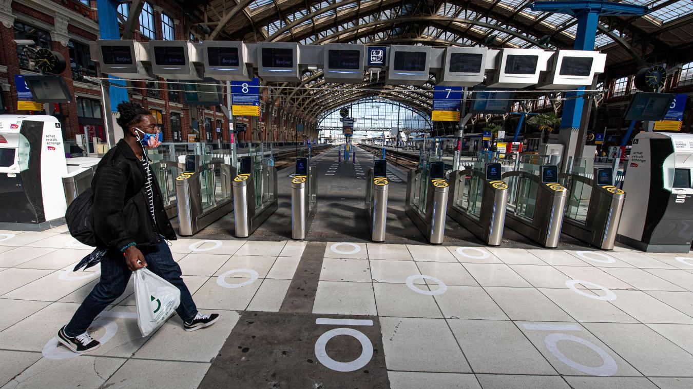 Covid-19: la SNCF enregistre +400% de réservations après l'allocution d'Emmanuel Macron